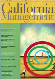 California Management Review 2009